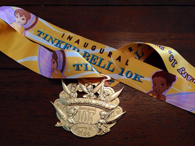 Tinkerbell Marathon Medal